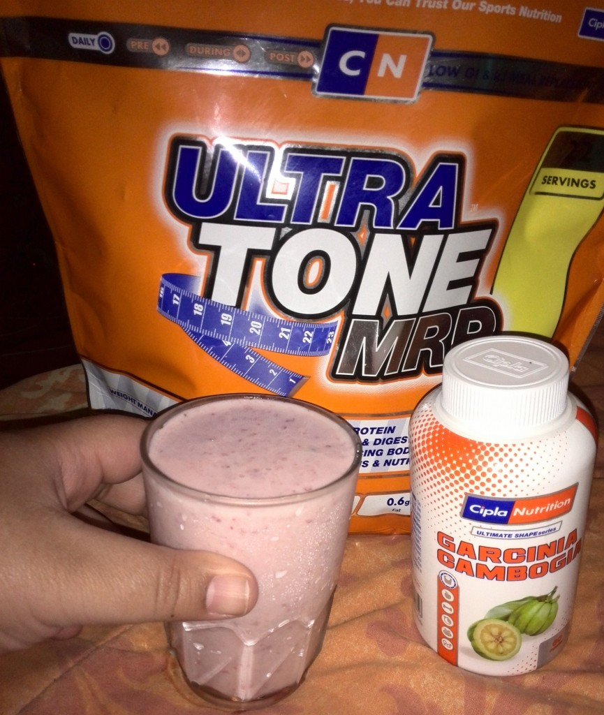 Strawberry Smoothie with Cipla Nutrition Ultra Tone MRP