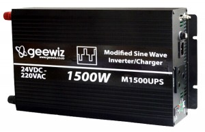 1500W Inverter and battery charger